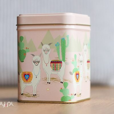 Puszka na herbatę Lama 100g