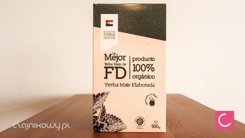 Yerba mate La Mejor elaborada organiczna 500g