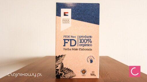 Yerba mate Fede Rico elaborada organiczna 500g