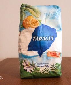 Yerba mate Taragui con palo elaborada marakuja 500g