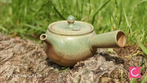 Czajnik do parzenia japońskiej herbaty seledynowy 320ml