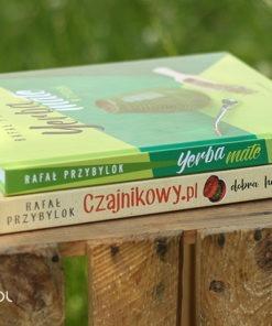 Zestaw: książki yerba mate w tydzień i czajnikowy.pl dobra herbata