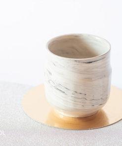Czarka do herbaty ceramika artystyczna unikat Y2