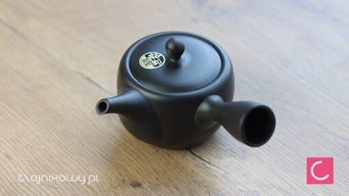 Japoński czajnik do herbaty Mini Black 170ml