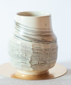 Matero do yerba mate ceramika artystyczna unikat X1
