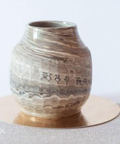 Matero do yerba mate ceramika artystyczna unikat X5