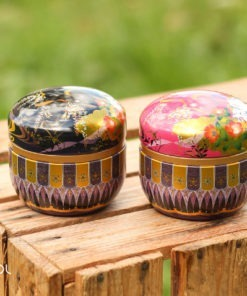 Zestaw japońskich puszek do herbaty Matcha Tamiiko