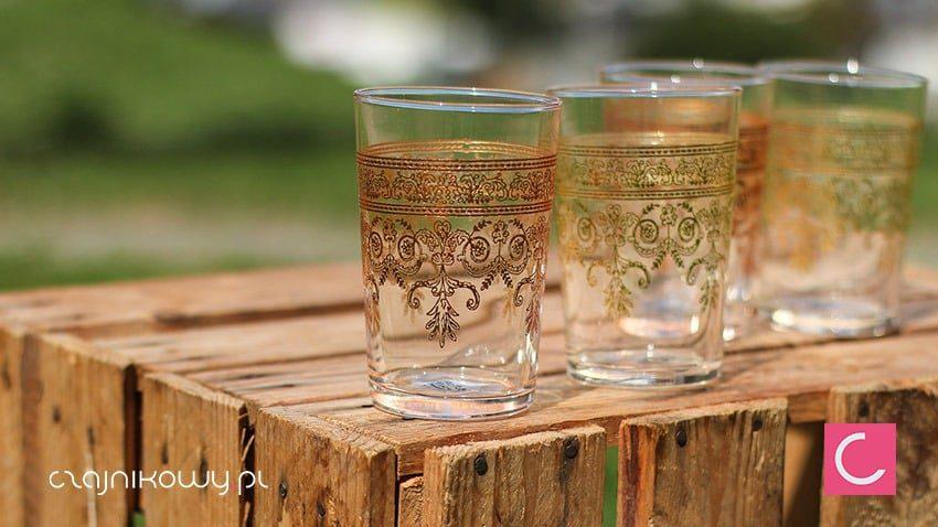 Zestaw 4 szklanek do tureckiej herbaty