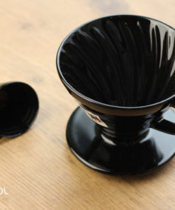 Dripper do kawy Hario V60-02 Kasuya czarny