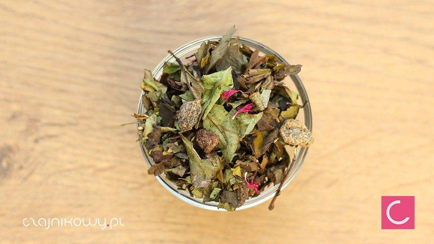 Herbata biała Soczysta Brzoskwinia naturalna