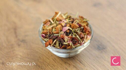 Herbata owocowa róża z limonką organiczna