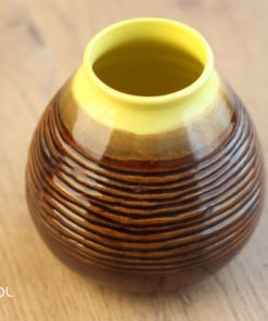 OUTLET matero do yerba mate żółte 330ml