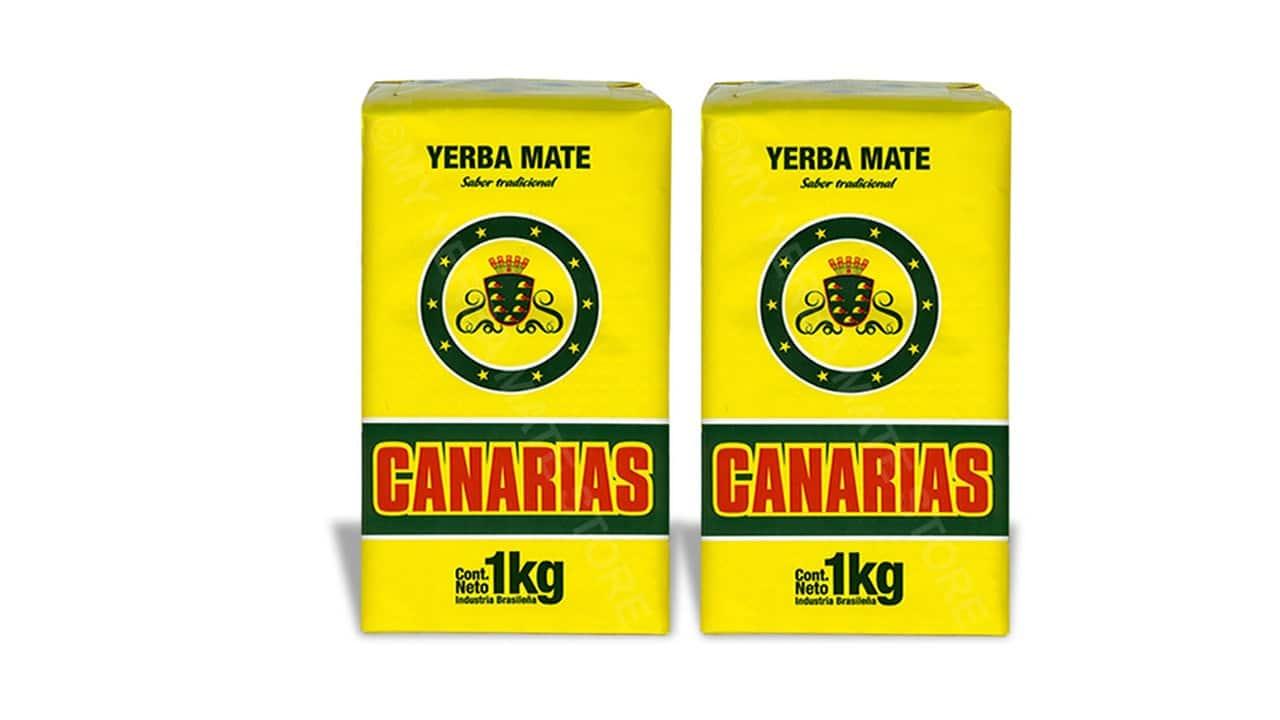 Opakowania yerba mate Canarias / for. yerbamatecanarias.com