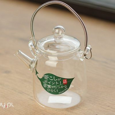 Czajnik szklany do herbaty Hario Asian 220ml Tall