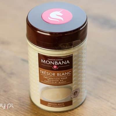 Czekolada na gorąco Monbana biała 200g