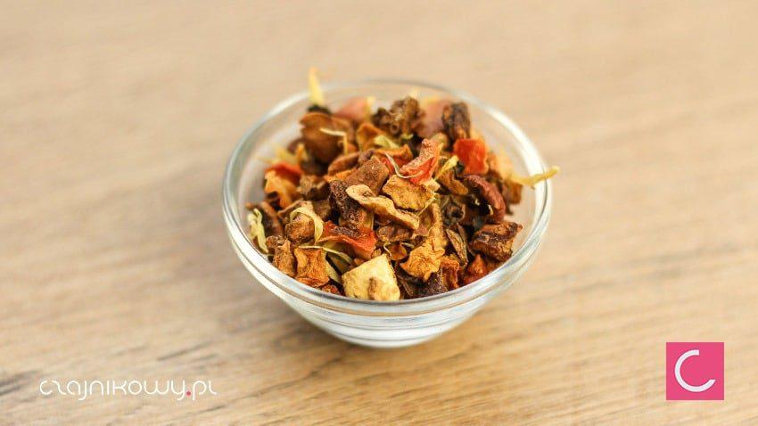 Herbata owocowa dyniowa z pomarańczą naturalna