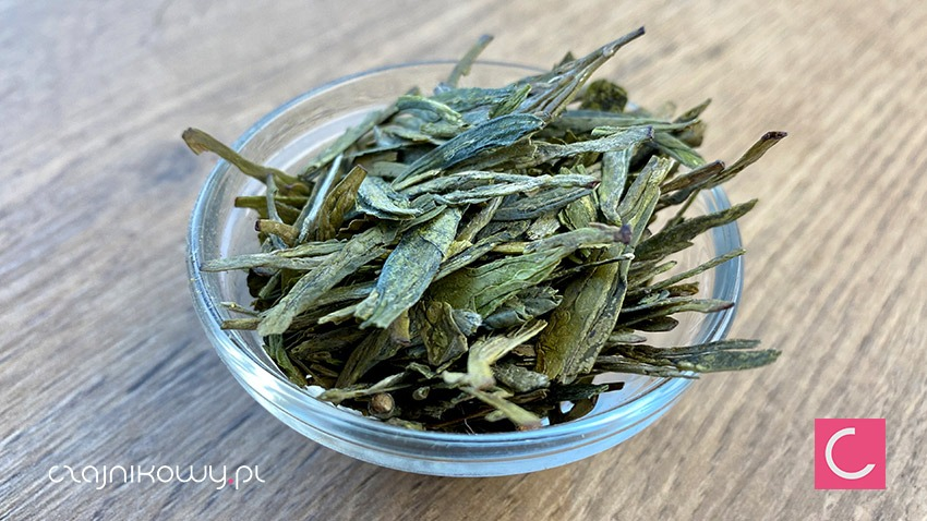 Zielona herbata Ding Gu Da Fang: liście
