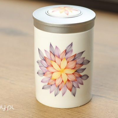 Pojemnik na herbatę ceramiczny mandala 0,3l