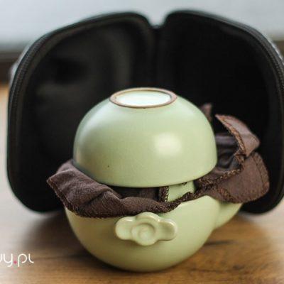 Turystyczny zestaw do parzenia herbaty Camera Case 1