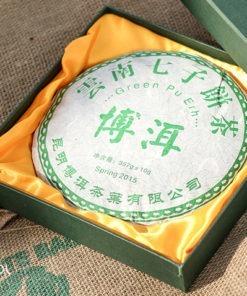 Herbata czerwona pu-erh green spring 2015 357g