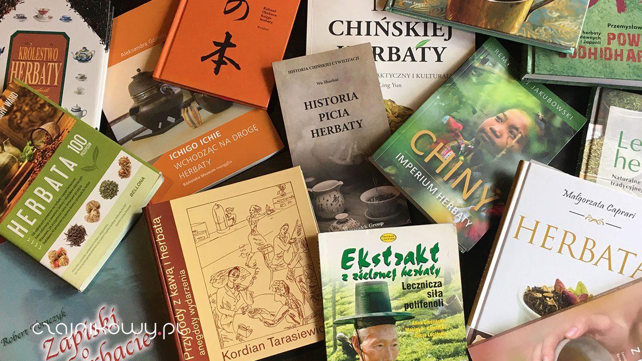 15 książek o herbacie, które warto przeczytać + bonus