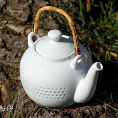 Czajnik do herbaty duży z dwiema czarkami 1,2l