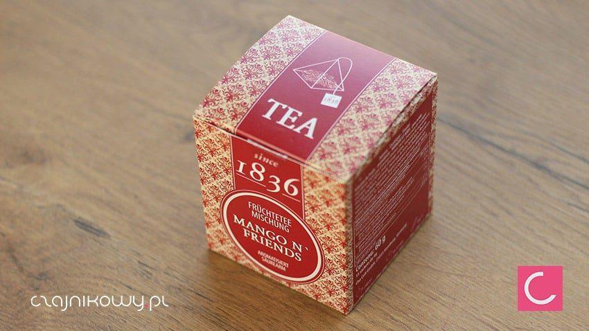 Herbata w torebkach Mango & Friends ekspresowa