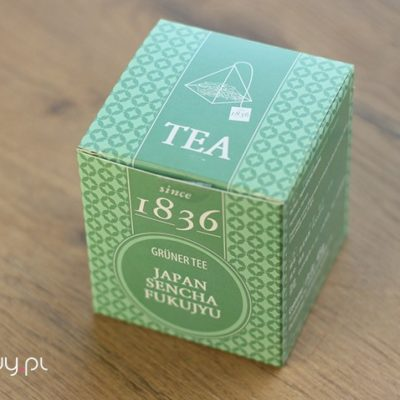 Herbata w torebkach Sencha Fukujyu Japan ekspresowa