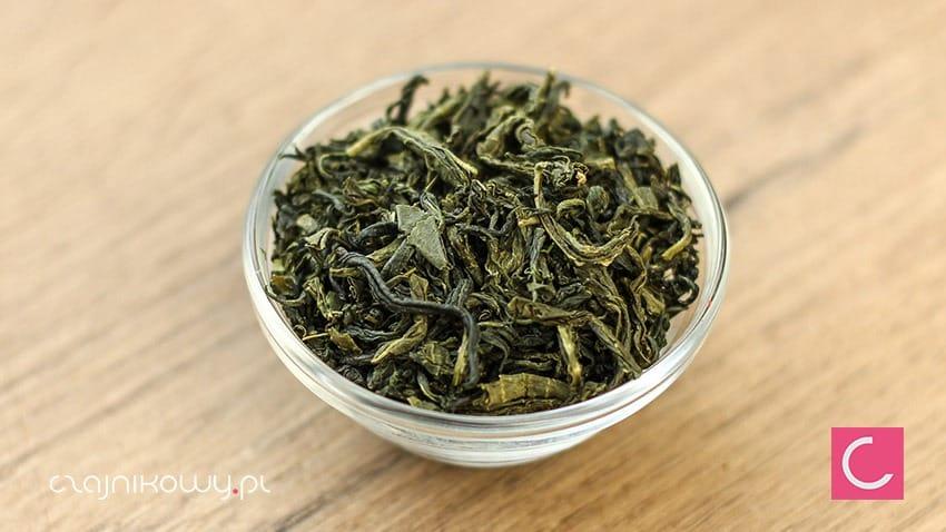 Herbata zielona koreańska Woojeon