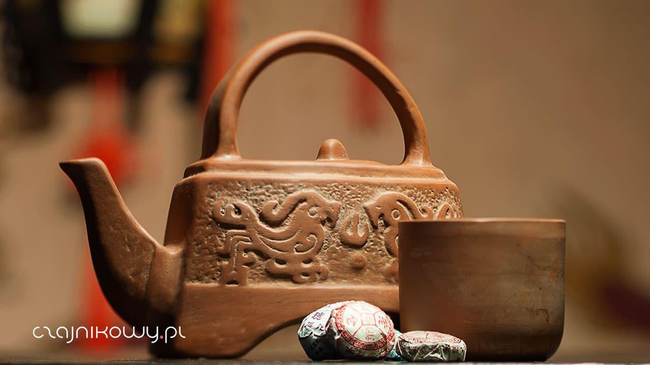 Pierwsza rozpuszczalna herbata? Cha Gao, herbaciana pasta z pu-erha