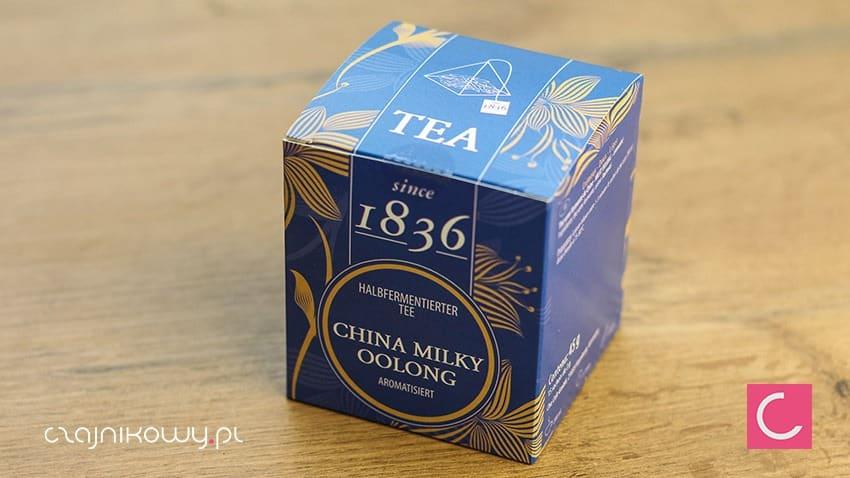 Herbata w torebkach mleczny oolong ekspresowa