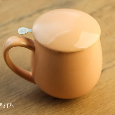 Najlepszy kubek do parzenia herbaty brzoskwiniowy 0,35l