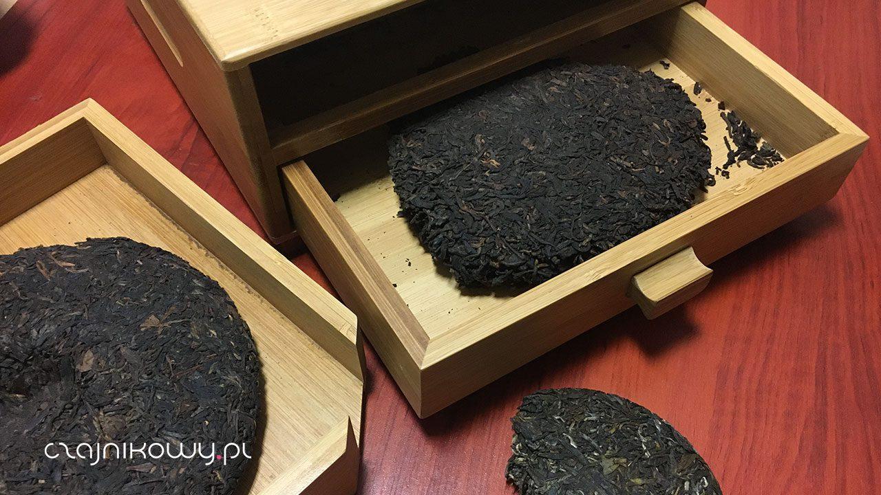 Jak przechowywać herbatę pu-erh