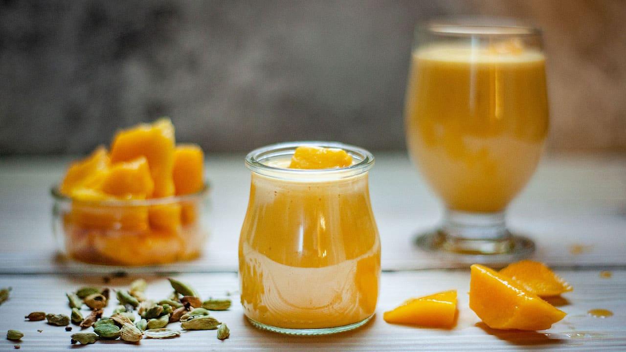 Mrożona herbata na bazie słodkiego mango