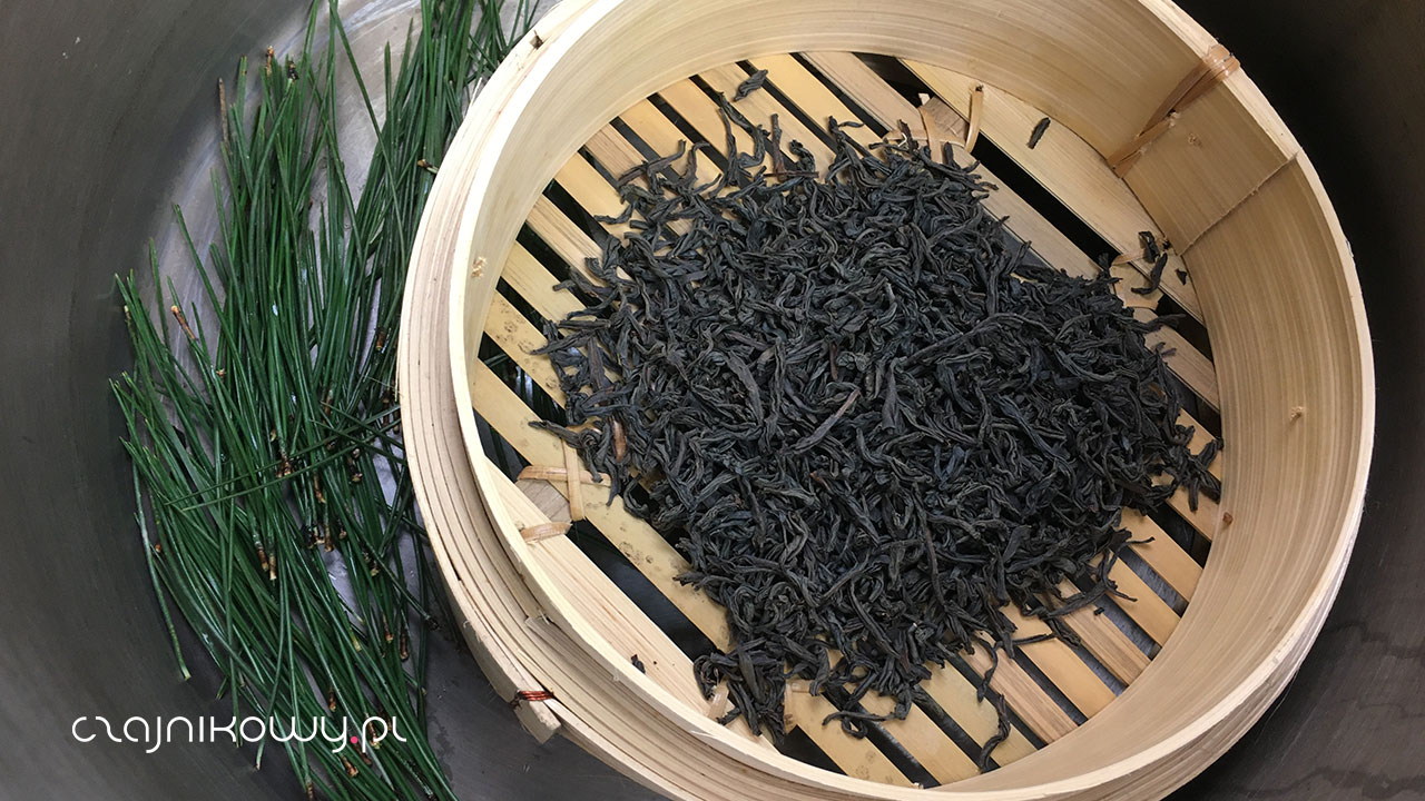 Herbata sosnowa, przepis