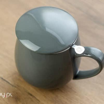 Najlepszy kubek do parzenia herbaty grey 0,35l