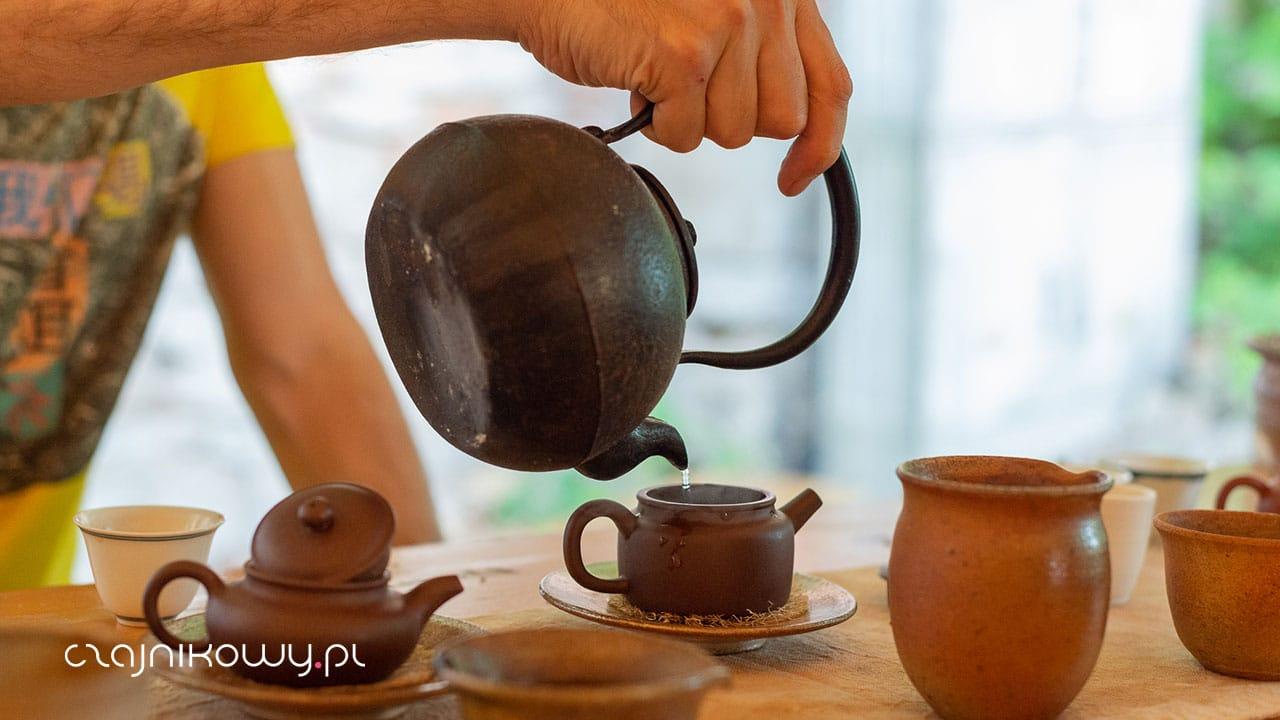 Herbaty polecane przez Rafała Przybyloka
