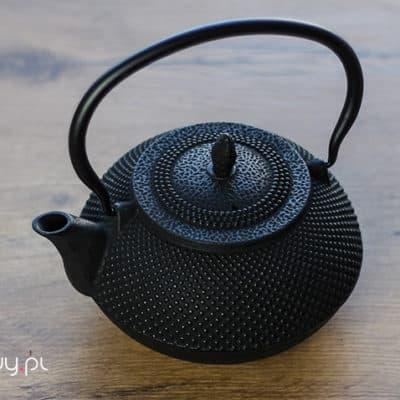 Żeliwny czajnik do herbaty Tetsu czarny 1.2l