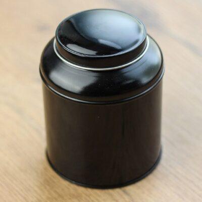 Puszka na herbatę bańka czarna 150g